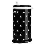 Ubbi Diaper Pail - Black Triangles