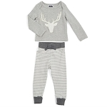 Mud Pie Stag Two Piece Set
