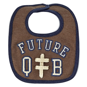 Mud Pie Future QB Bib