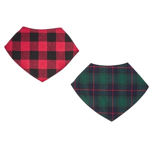 Mud Pie Alpine Village Bandana Bibs