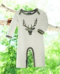 Mud Pie Camo Stag One Piece