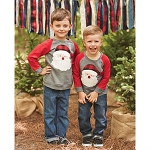 Mud Pie Santa Sweatshirt
