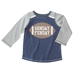 Mud Pie Football T-Shirt - Sunday Funday