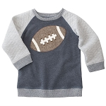 Mud Pie Football Sweatshirt