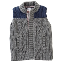 Mud Pie Sweater Knit Vest