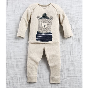 Mud Pie Bear Pant Set
