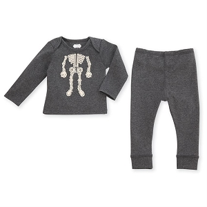 Mud Pie Skeleton Pant Set