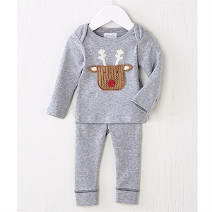 Mud Pie Reideer 2pc Set
