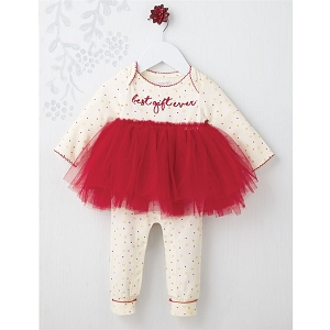 Mud Pie Best Gift Ever Tutu One Piece
