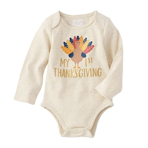 Mud Pie 1st Thanksgiving Turkey Crawler