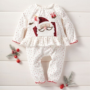 Mud Pie Red Santa Outfit