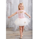 Mud Pie More Glitter Tutu Set
