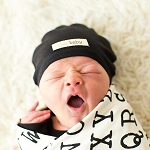 Organic Cute Cap - Black