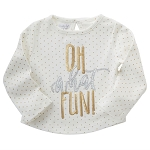 Mud Pie Holiday Dazzle Tee - Oh What Fun