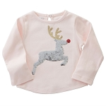 Mud Pie Holiday Dazzle Tee - Reindeer