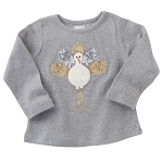Mud Pie Thanksgiving Dazzle Tee - Turkey