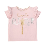 Mud Pie Sequin Tee - Time To Glitter