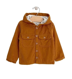 Amber Hooded Cord Jacket