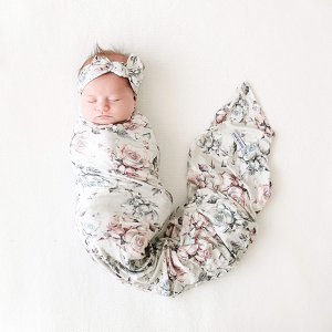 Posh Peanut Daniella Swaddle & Headband Set