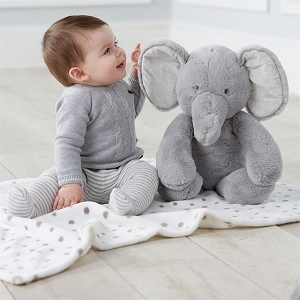 Elephant Plush Blanket Pal
