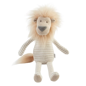 Mud Pie Knit Lion Doll - Large
