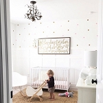 Mini Polka Dots Wall Decal