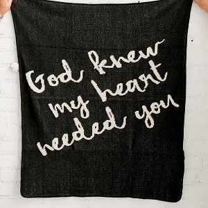 God Knew My Heart Needed You - Black