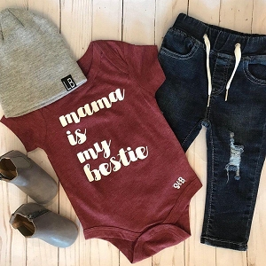 Mama Is My Bestie Tee