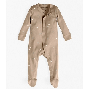 Organic Long Sleeve Footed Clay Sleeper