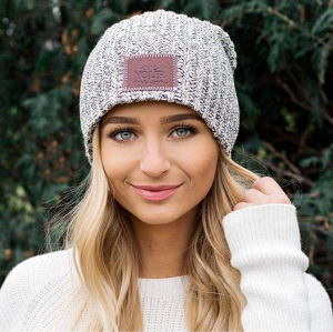 Adult Slouchy Beanie- Speckled