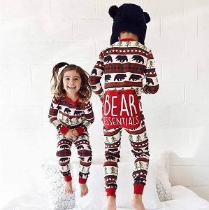 Bear Essentials Flapjack Kids Pajama