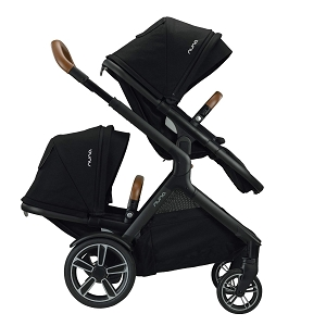 2020 Nuna DEMI Grow Double Stroller Caviar