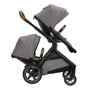 2020 Nuna DEMI Grow Double Stroller Frost