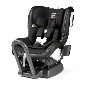 Peg Perego Primo Viaggio Convertible Kinetic - LICORICE-Black Leather