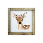 Watercolor Frame Print - Deer