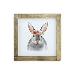 Watercolor Frame Print - Bunny