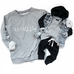 Reckless Love Pullover Sweatshirt