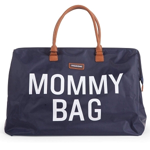 Mommy Bag- Navy/White