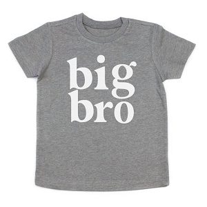 Grey Big Bro Tee