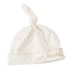 Mud Pie Gold Knot Hat - So Loved
