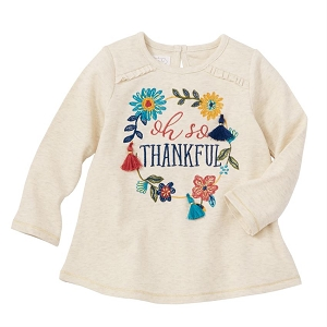 Mud Pie Oh So Thankful Tunic