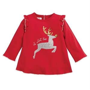 Mud Pie Reindeer Dazzle Tunic