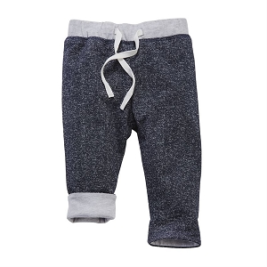 Mud Pie Reversible Pants - Navy Blue