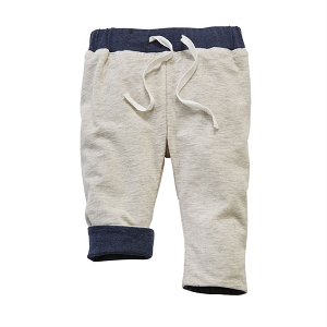 Mud Pie Reversible Pants - Grey