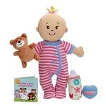 Wee Baby Stella Sleepy Time Set - Peach