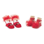 Mud Pie Christmas Tulle Socks