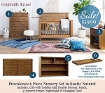 Franklin & Ben Providence 6 Piece Collection - Rustic Natural