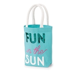 Mud Pie Mini Tote - Fun in the Sun