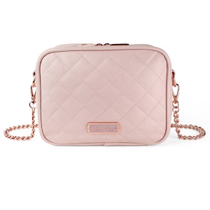 Crossbody Diaper Bag - Blush