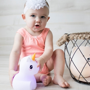 LED Unicorn Night Light Bluetooth Speaker